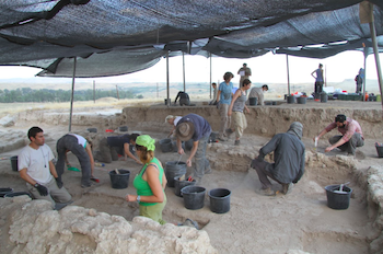 A Multi-Disciplinary Team from Several Countries Excavates at Tel Tsaf in the Jordan Valley.