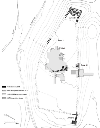 Figure 1: Hazor Upper City Plan