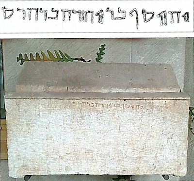 The Joseph, son of Judah, son of Hadas ossuary published by Shanks (July/Aug 2012) which he claims the author may have mistaken for the James ossuary. The ossuary is sitting in the same place where the James ossuary once sat.